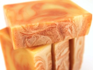 Orange Spice Handmade Soap
